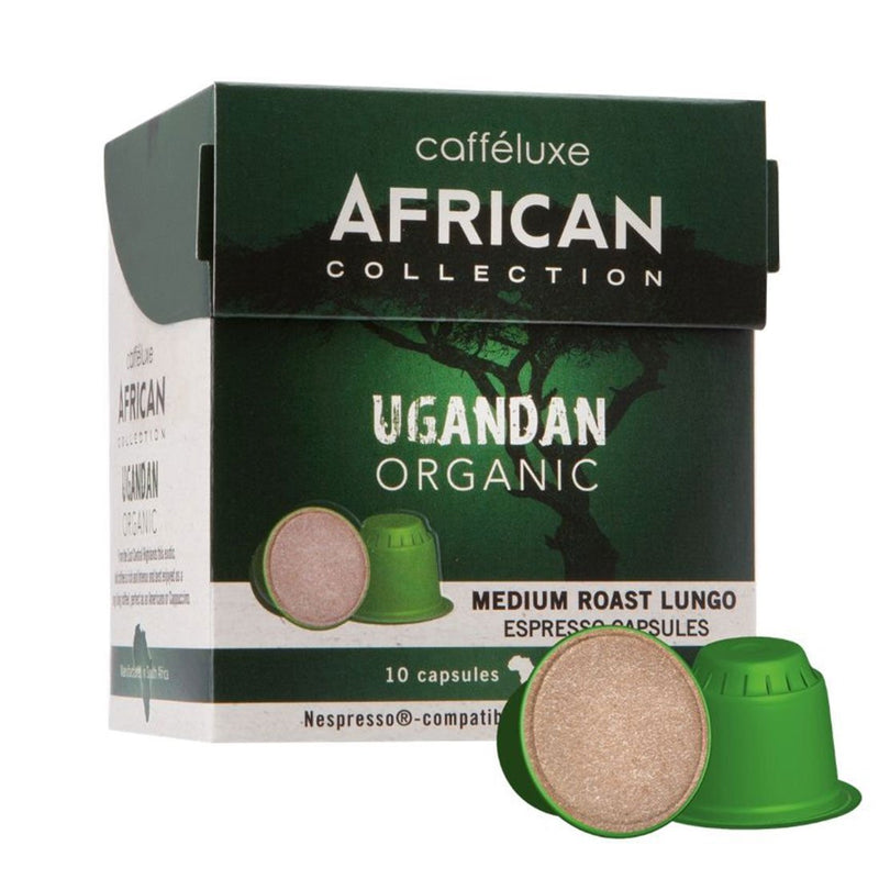 Nespresso® Compatible African Collection Ugandan Organic 10s