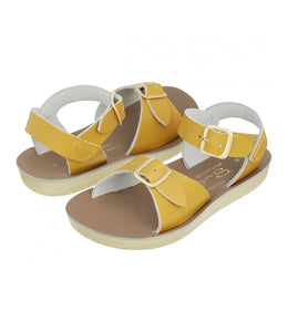 salt-water sandals surfer