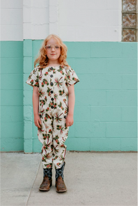 Fish & kids jumpsuit palm