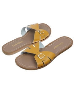 Salt-water sandals classic slide mustard