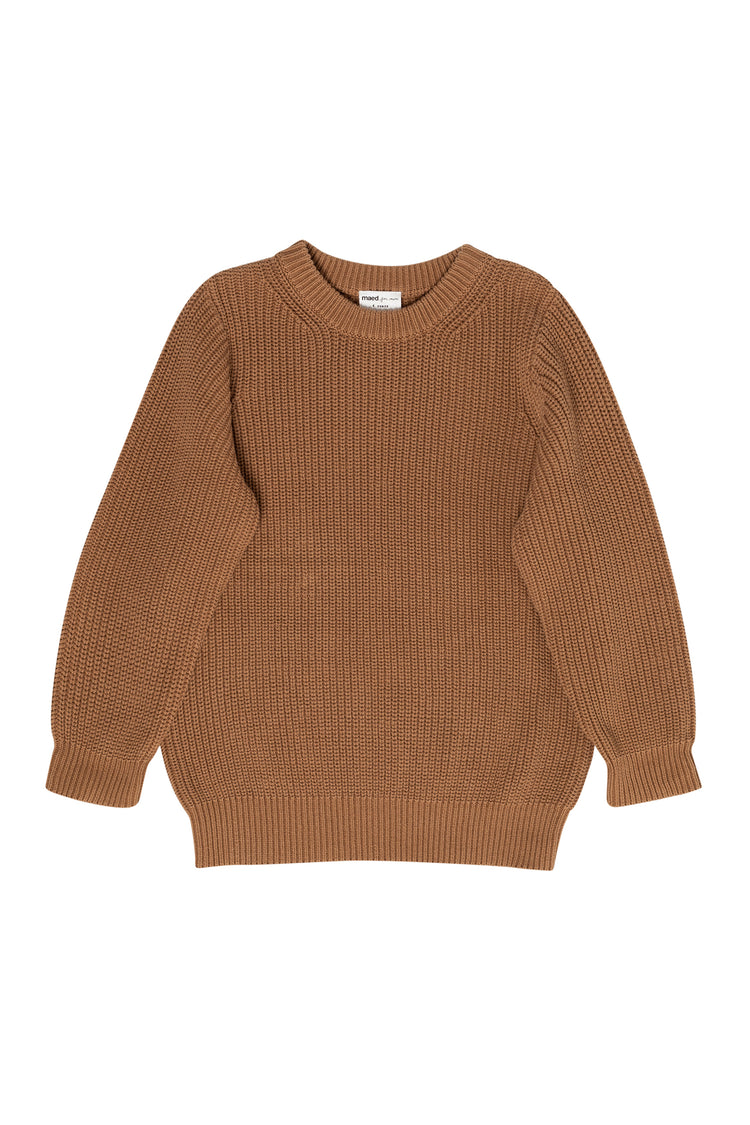 maed for mini busy bear sweater - Little Loved Ones