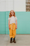 Fish & kids pants corduroy yellow