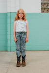Fish & kids pants denim