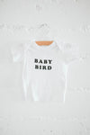 Baby bird t-shirt white The bee & the fox