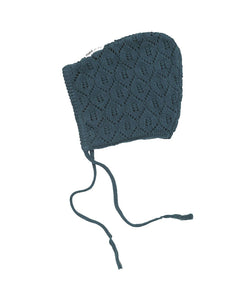 maed for mini knit hat petrol parrot