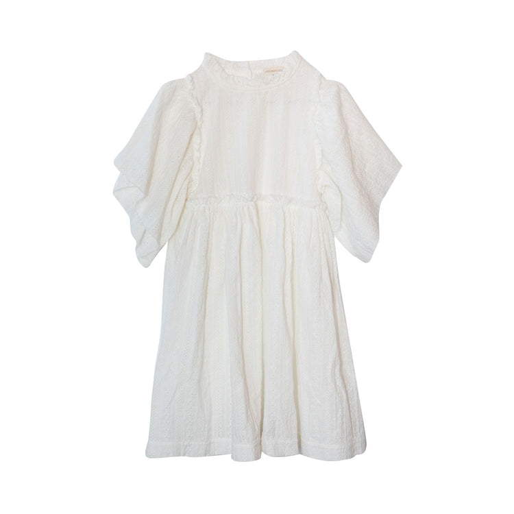 Yellowpelota vega dress white