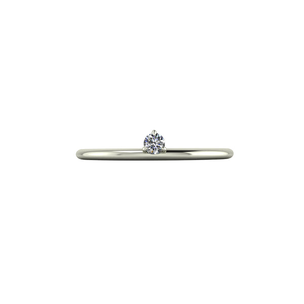Breathing underwater / 3 claw / Petite / 0.05ct