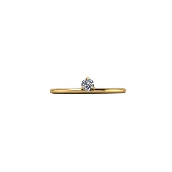 Breathing underwater / 3 claw / Petite / 0.11ct