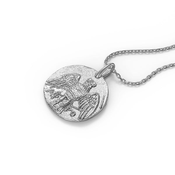 Tyche pendent Silver