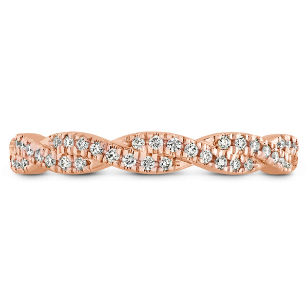 Harley Go Boldly Braid Eternity Band