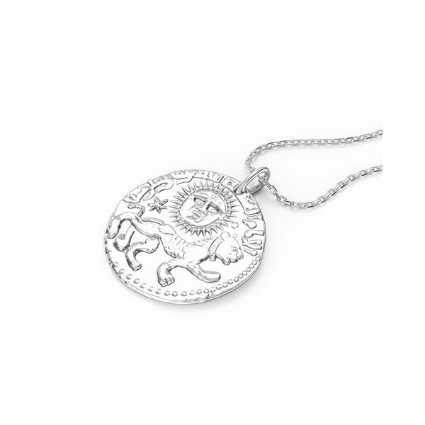 I am women silver pendant