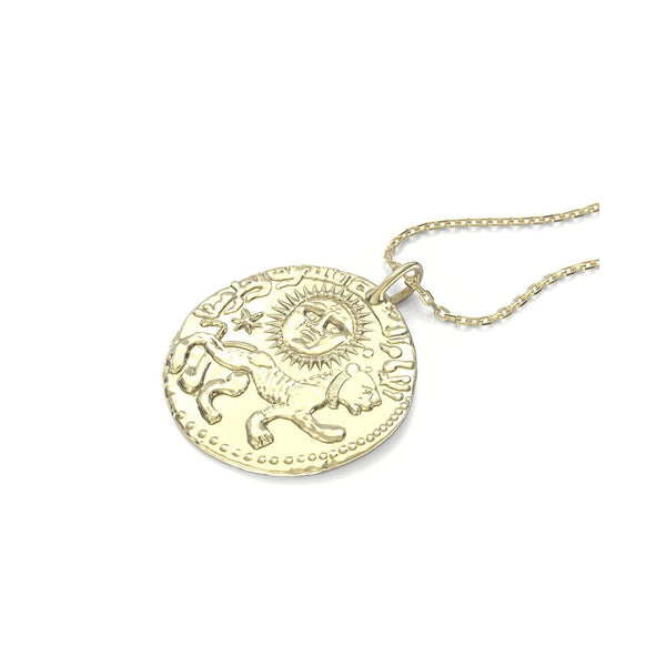 I am women gold plated silver pendant