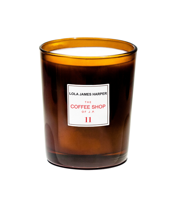 Coffee shop of J.P  candle #11