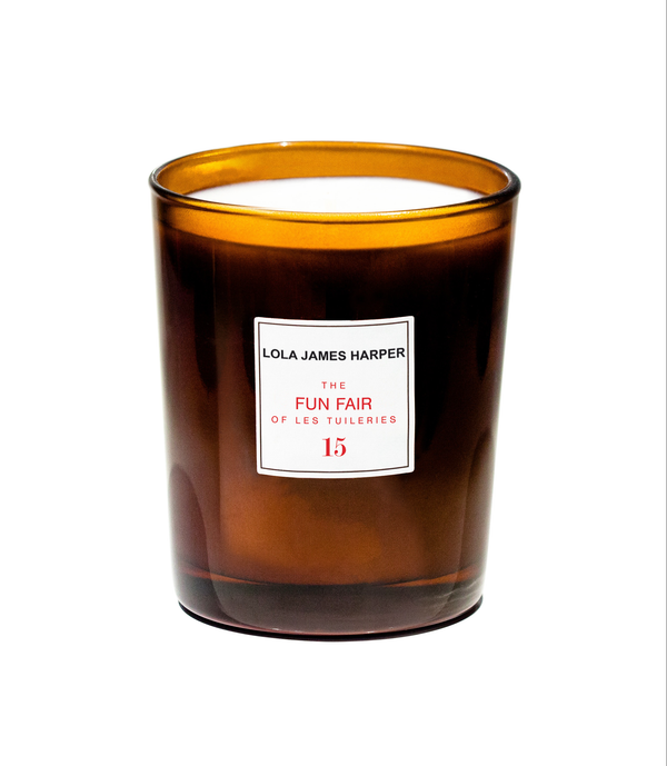 15 The fun fair of Les Tuileries candle