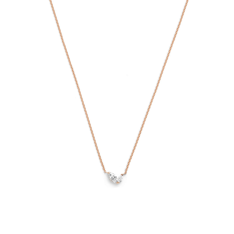 Defne Necklace | White Diamonds