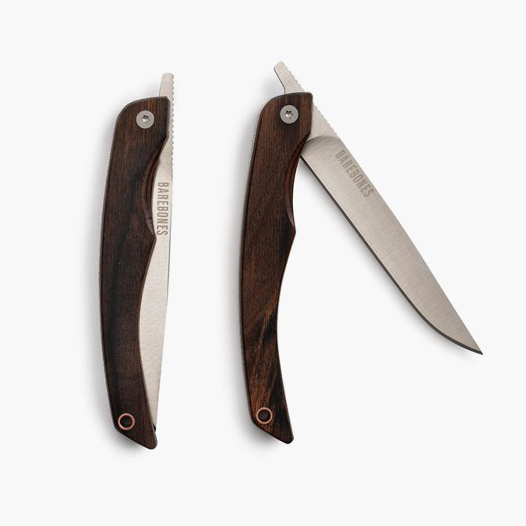 Barebones Folding Steak Knives