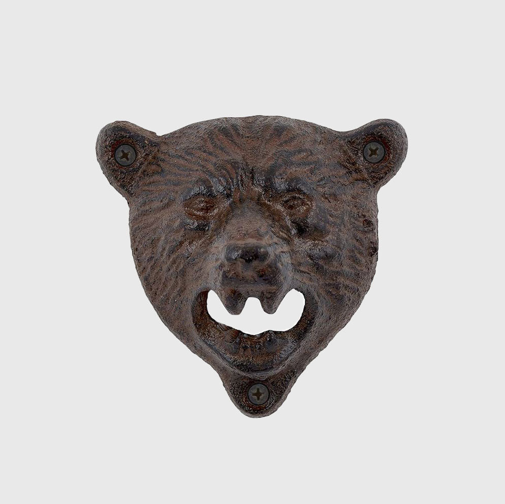 Bear's Head Bottle Opener