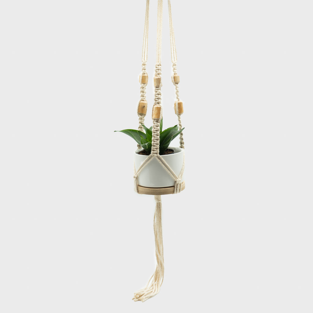 High Mountain Arts - Small Macrame Hanger