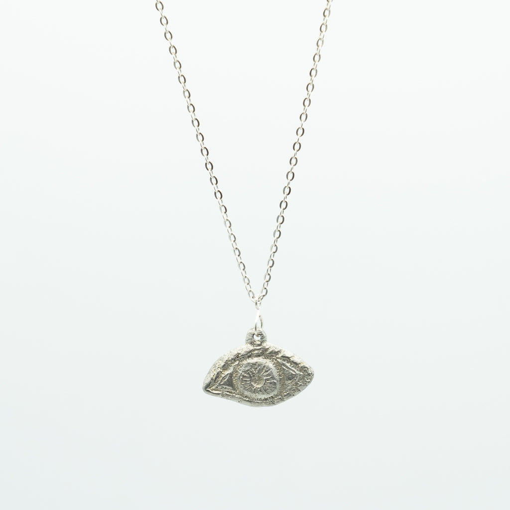 LYNN MINERAL ALL SEEING EYE NECKLACE