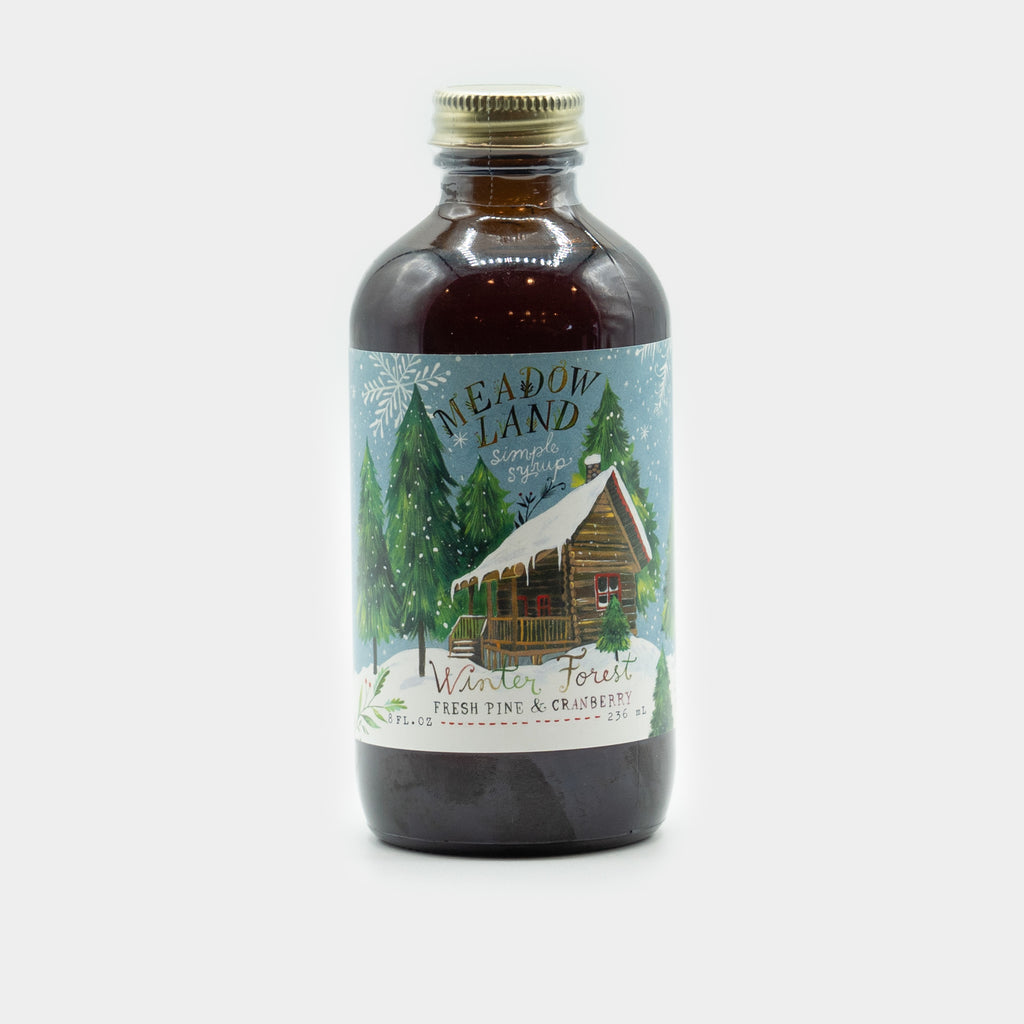 Meadowland Winter Forest Simple Syrup