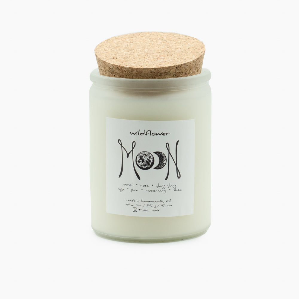 Moon Candles: Wildflower