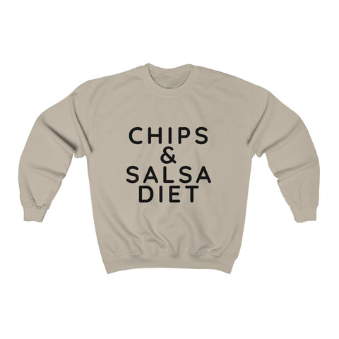 Chips and Salsa Diet Sweatshirt