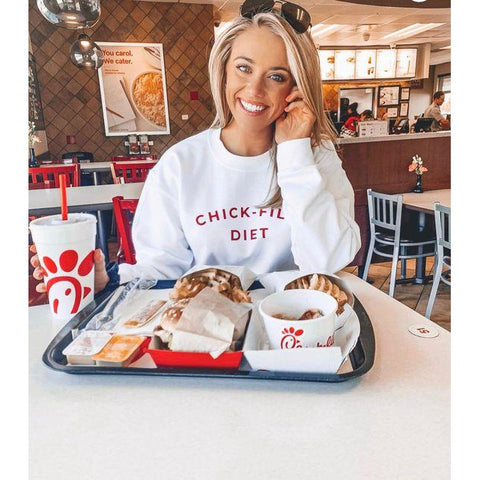 Chick Fil A Diet Sweater