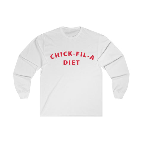Chick Fil A Diet Long Sleeved Shirt
