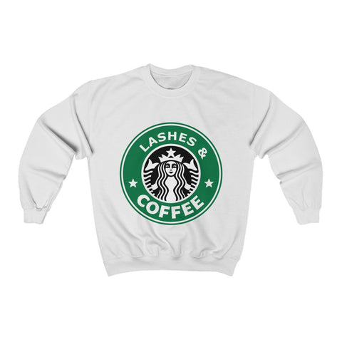 Lashes and Coffee Sweatshirt