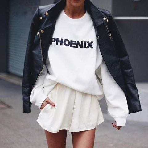 City Customized Oversized Sweatshirt