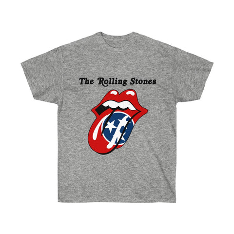 Custom State Flag Tongue Logo Shirt