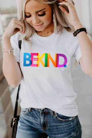 Be Kind Rainbow Unisex Tee