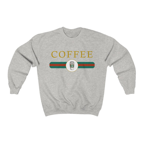 Coffee Gucci Inspired Sweatshirt