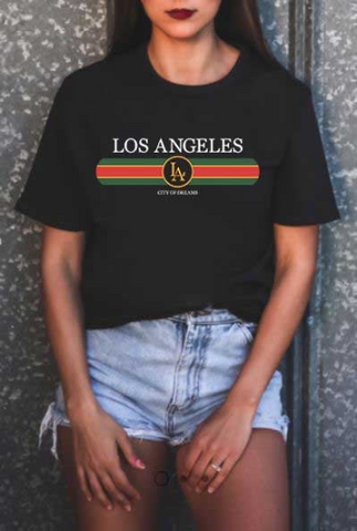 Short-Sleeve Los Angeles T-Shirt