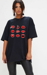 Lips Graphic Shirt