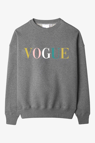 VOGUE Pastel Cozy Sweatshirt