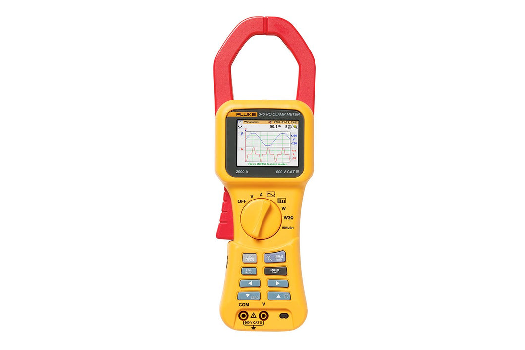 Fluke 345 Power Quality-stroomtang