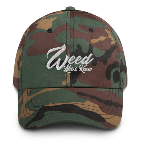WEED LIKE TO KNOW HAT - FATIGUE