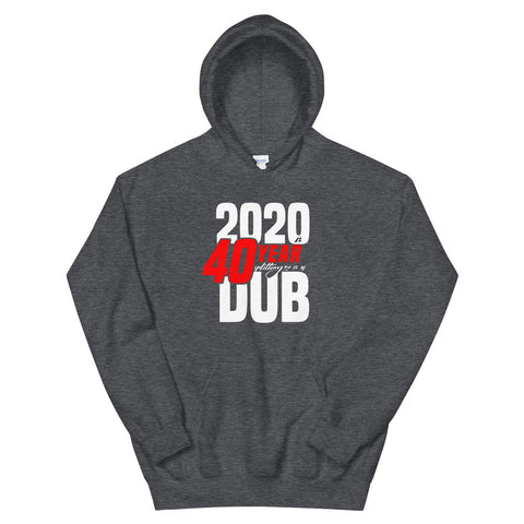 2020 is 40 Year Hoodie - GRAY