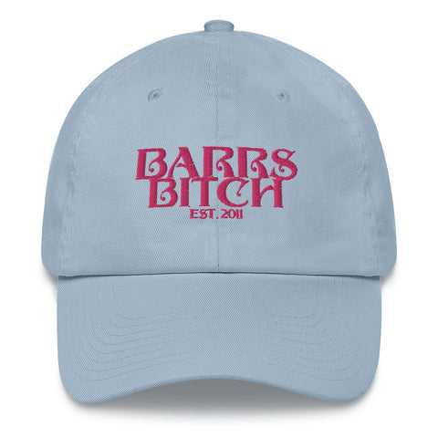 BARRS BITCH Hat - LIGHT BLUE