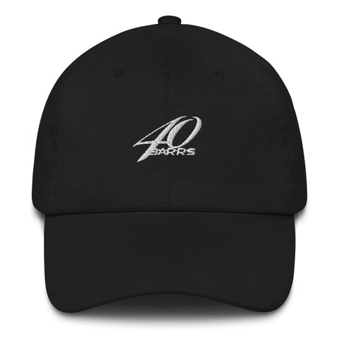 40 BARRS Hat - BLACK