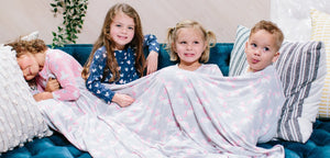 Smart Collection - Girls Big Kid Blankets