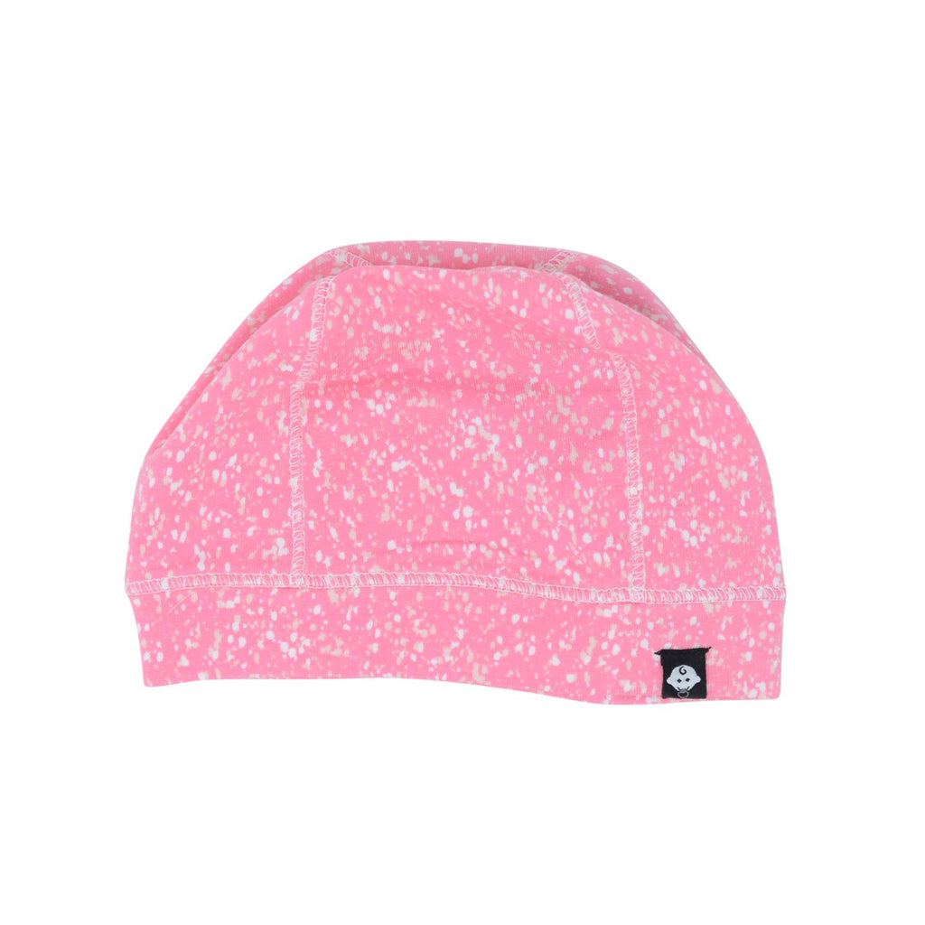 Baby Cap - Pink Spatter - Sweet Bamboo