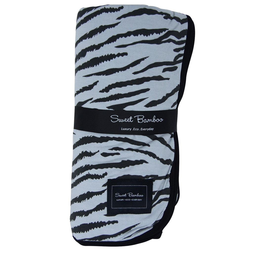 Big Kid Blanket  - Tiger Stripe - Sweet Bamboo