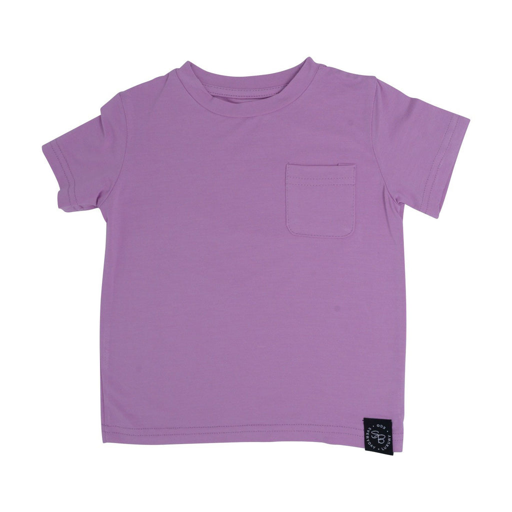 Crew Neck T - Lavender - Sweet Bamboo