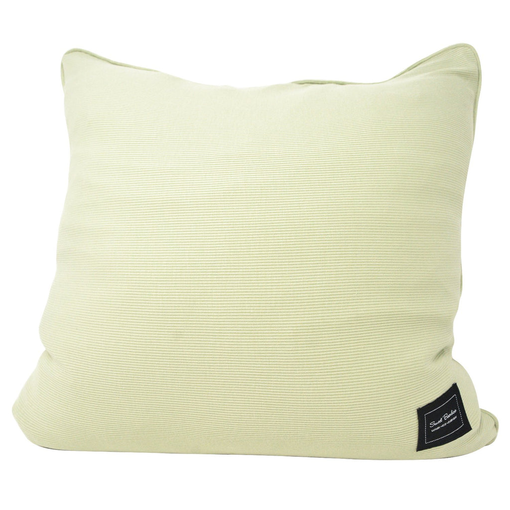Decorative Pillow Sham (Square) - Desert Sage Ribbed - Sweet Bamboo
