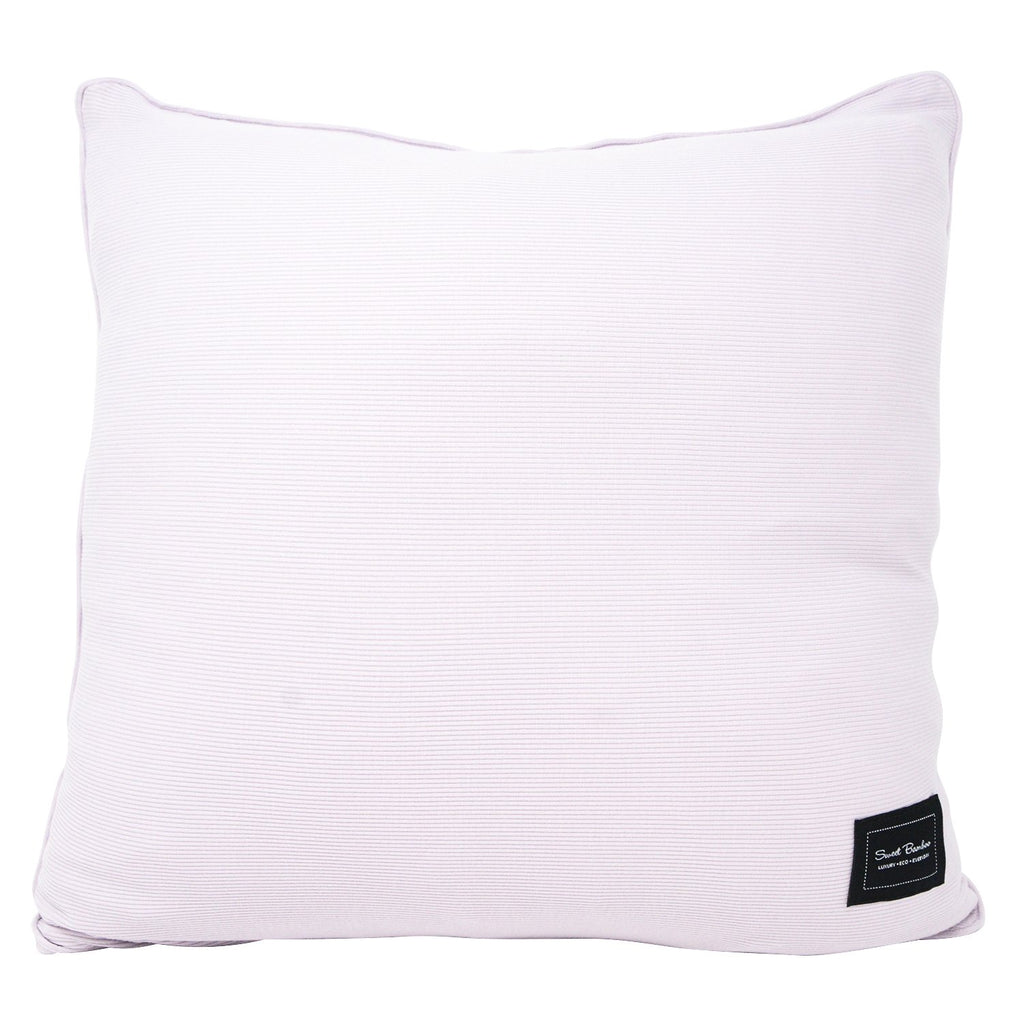 Decorative Pillow Sham (Square) - Orchid Hush Ribbed - Sweet Bamboo