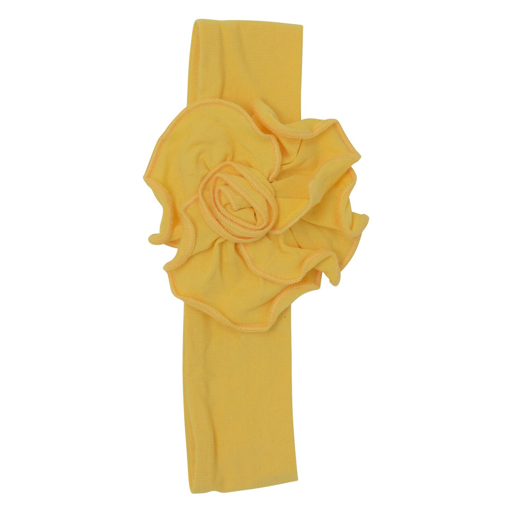 Flower Headband - Yellow - Sweet Bamboo