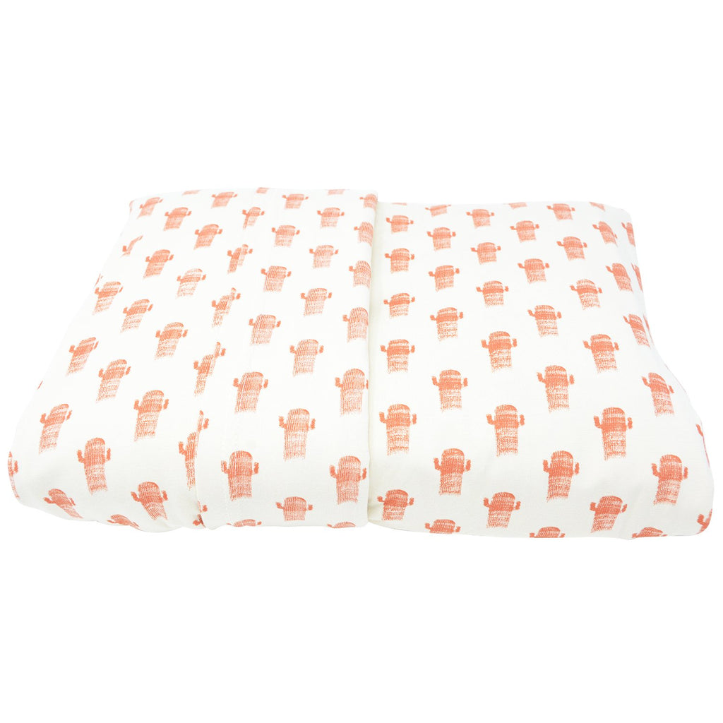Full Sheet Set (Fitted + 2 Pillow Cases) - Cactus - Sweet Bamboo