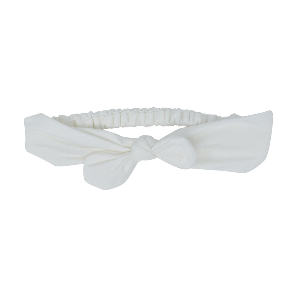 Headband - White Solid - Sweet Bamboo